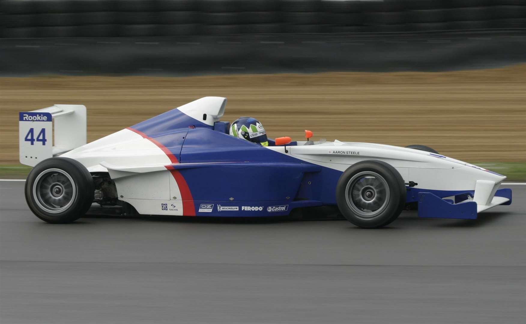 Aaron Steele started out in Formula BMW UK in 2005. Picture: Peter Still