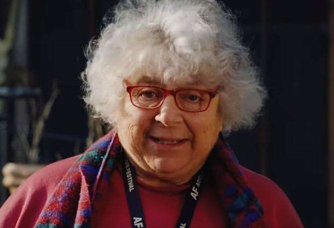Actress Miriam Margolyes hinted at the plans last month