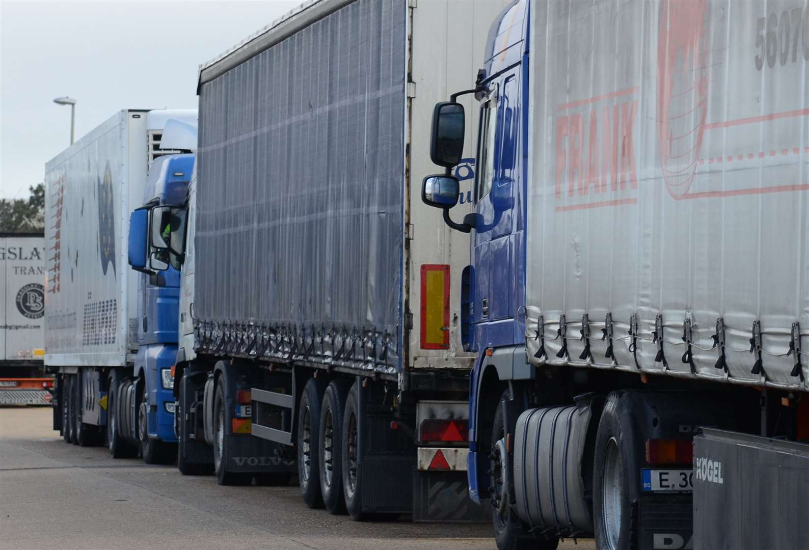 The Sevington site will hold up to 2,000 lorries