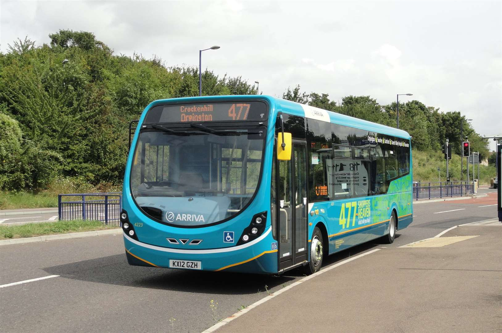 An Arriva bus. Stock image