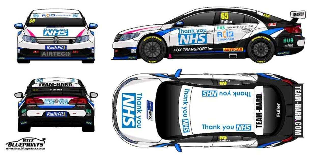 Kent-based Team HARD are doing their bit to support the NHS with a crowdfunding campaign Picture: Team HARD Racing (34039068)