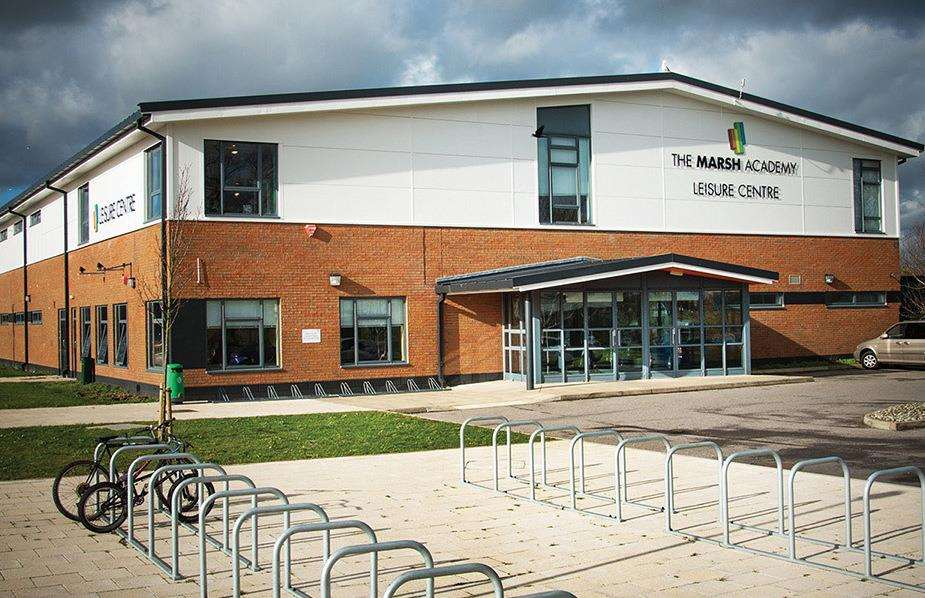 The cinema would be located at Marsh Academy