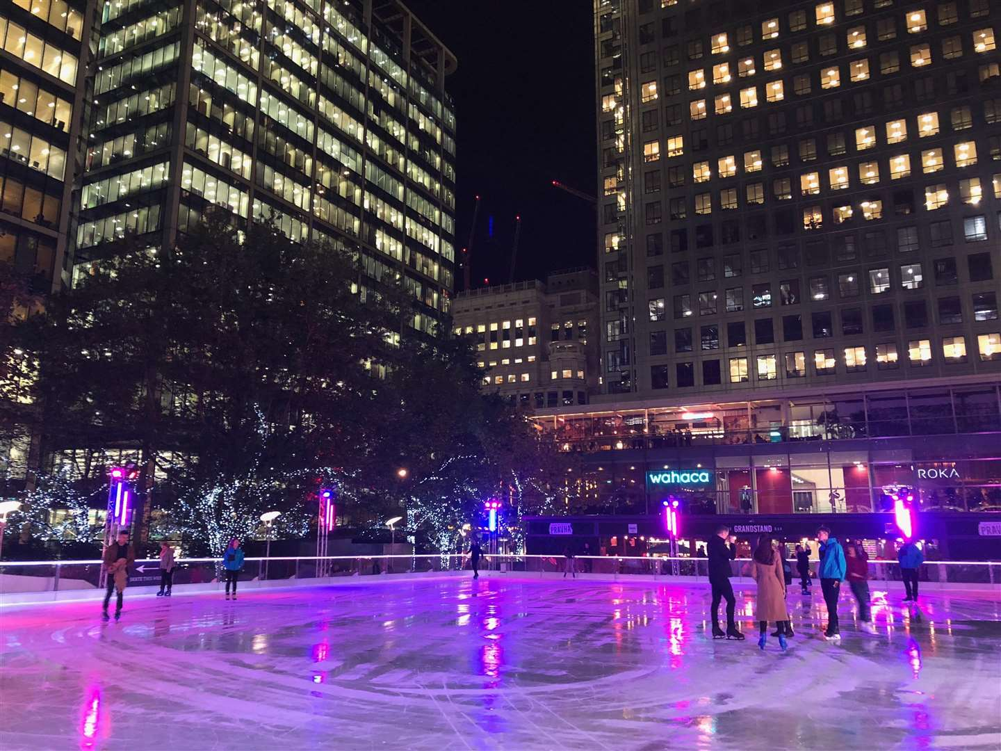 Canary Wharf Ice Rink gears up for Christmas (5185825)