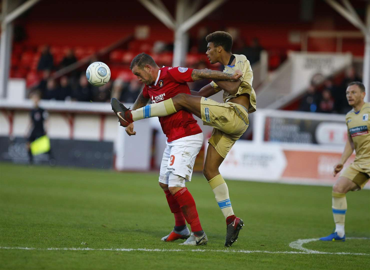 Ebbsfleet host Cheltenham in the FA Cup first round on Saturday Picture: Andy Jones
