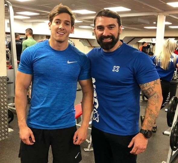 Jacques Fraser and Ant Middleton Picture: Jacques Fraser/Instagram