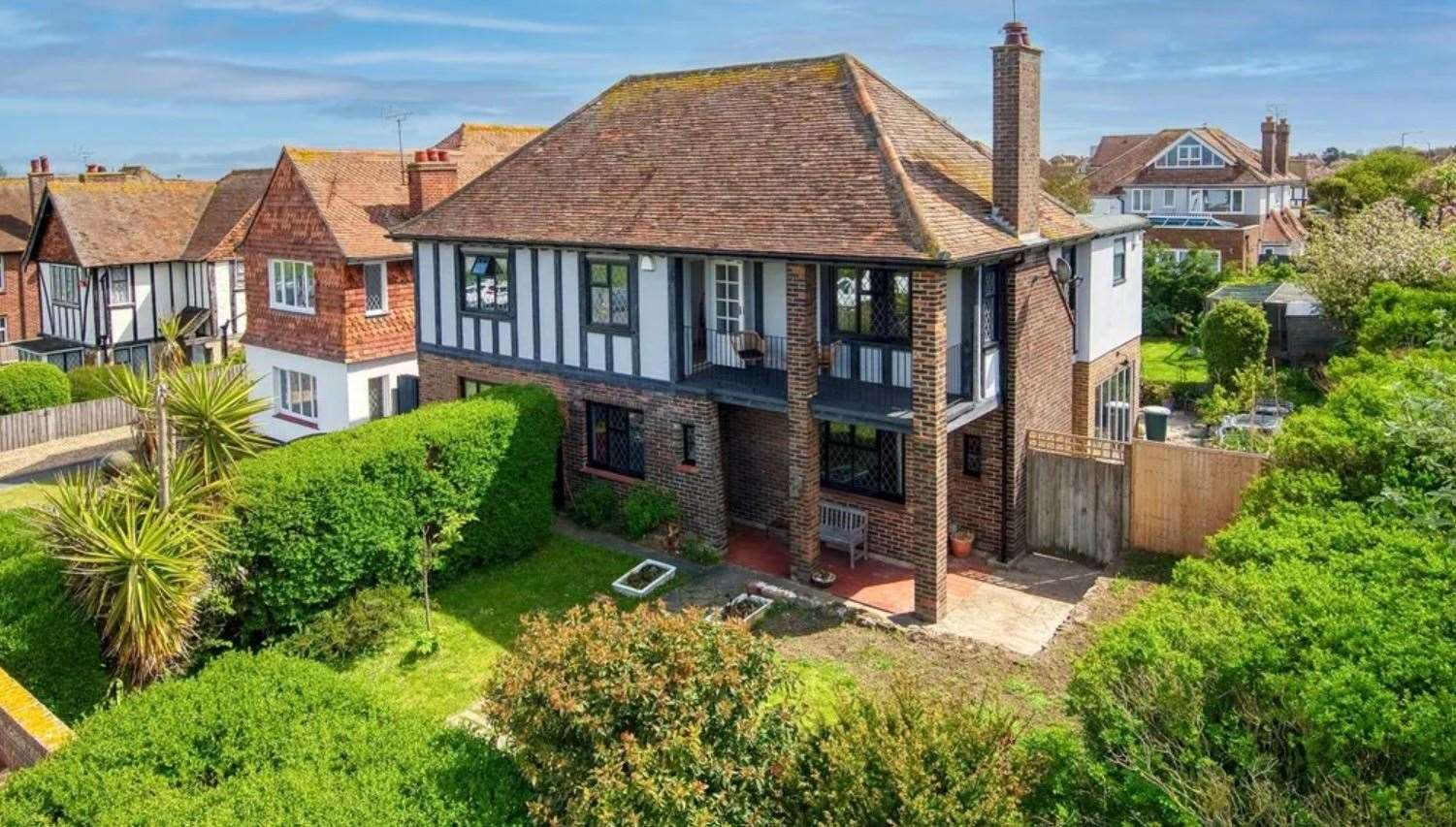 The four-bed detached house in Royal Esplanade. Picture: Zoopla / Miles & Barr