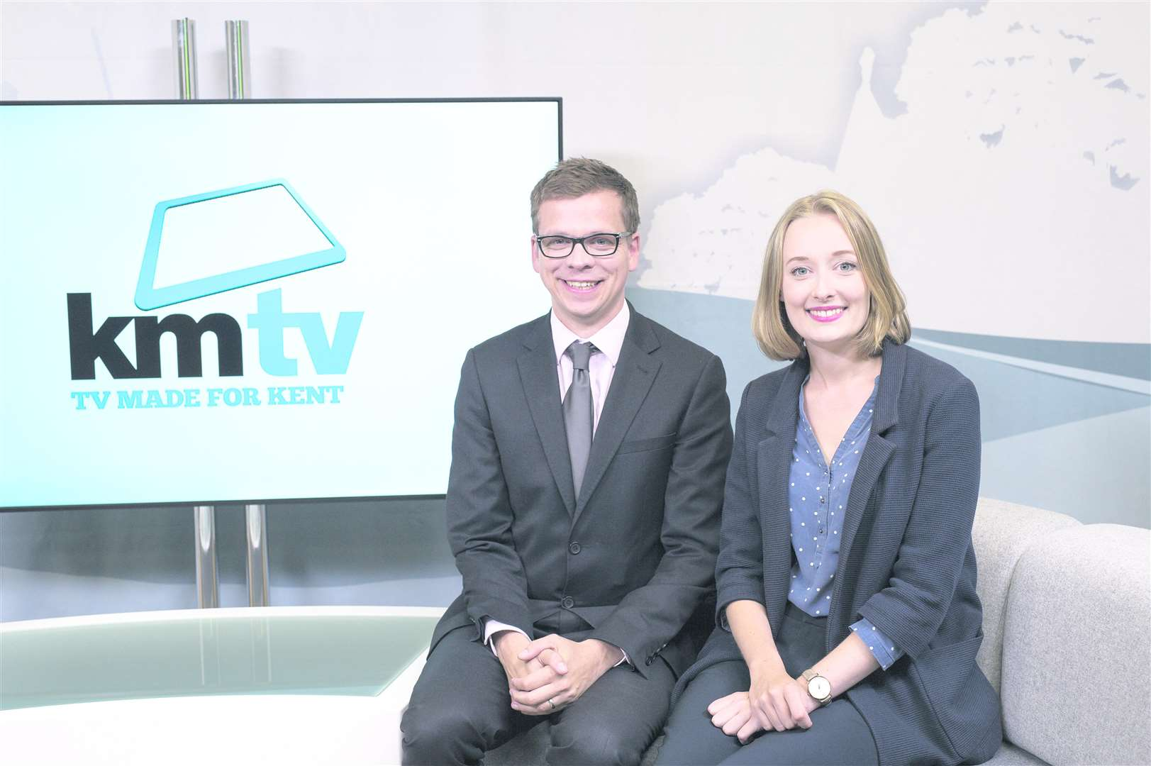 KMTV's Andy Richards and Louisa Britton