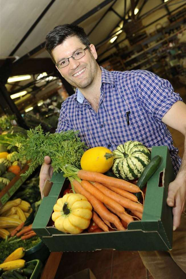 Stefano Cuomo is keeping fruit and veg prices lower than the supermarkets at Macknade Fine Foods