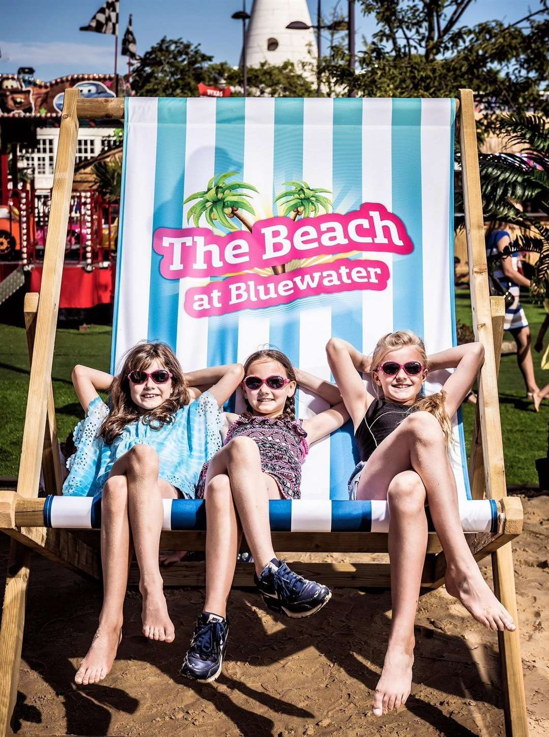 The Beach will be at Bluewater throughout the summer holidays