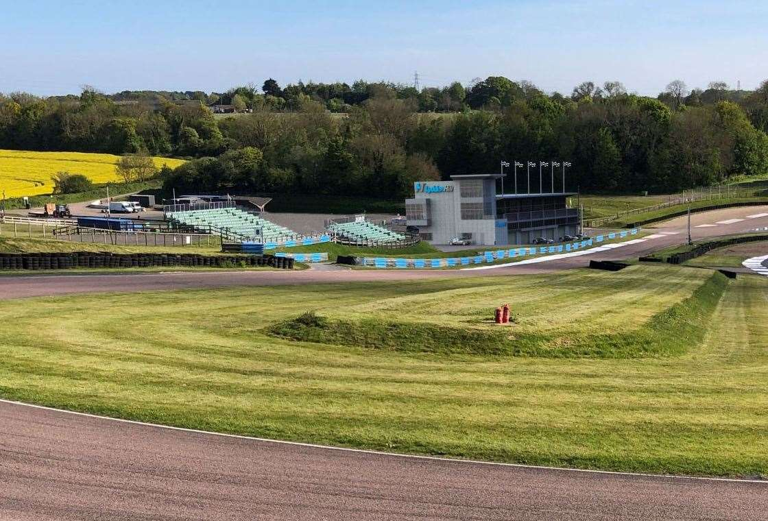 Artists's impression of the circuit after redevelopment. Picture: Mike West of CAD Solutions, Dover