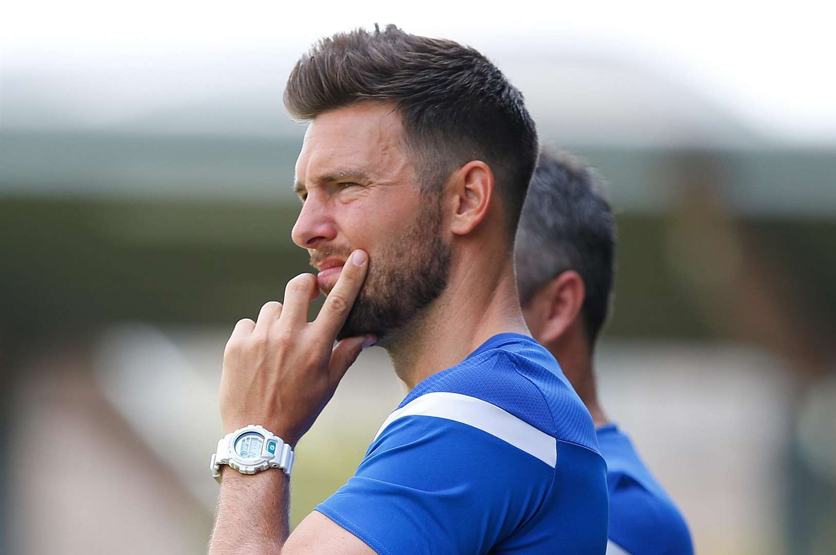 Joint Dartford boss Jamie Coyle. Picture: Andy Payton