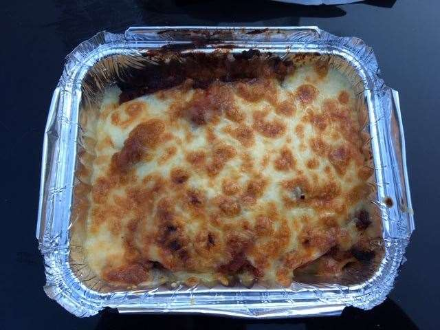 Mrs SD chose the home-made lasagne and even though it was delicious struggled to finish the whole portion.