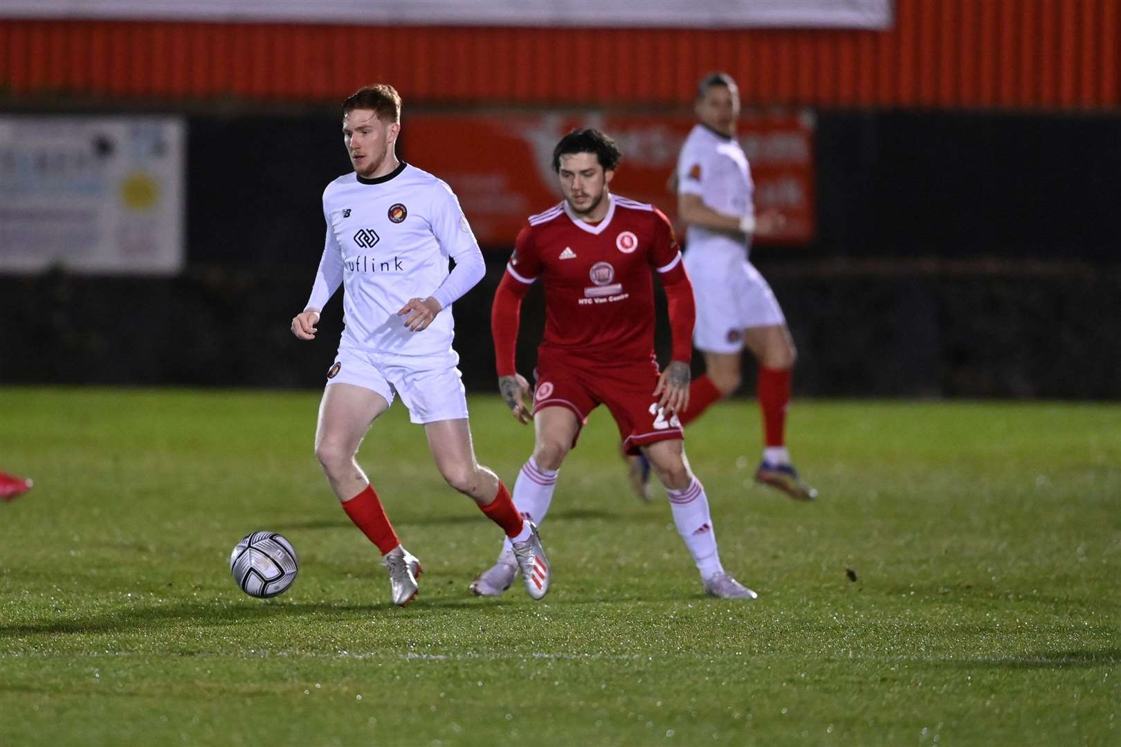 Darren Oldaker in action for Welling United last season Photo: Keith Gillard