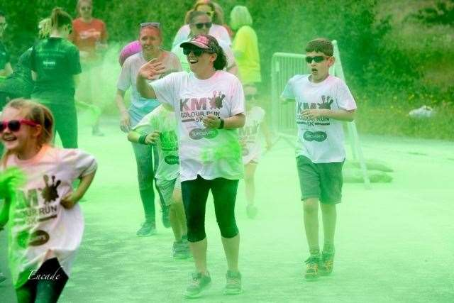 The KM Colour Run takes place in July (22692816)