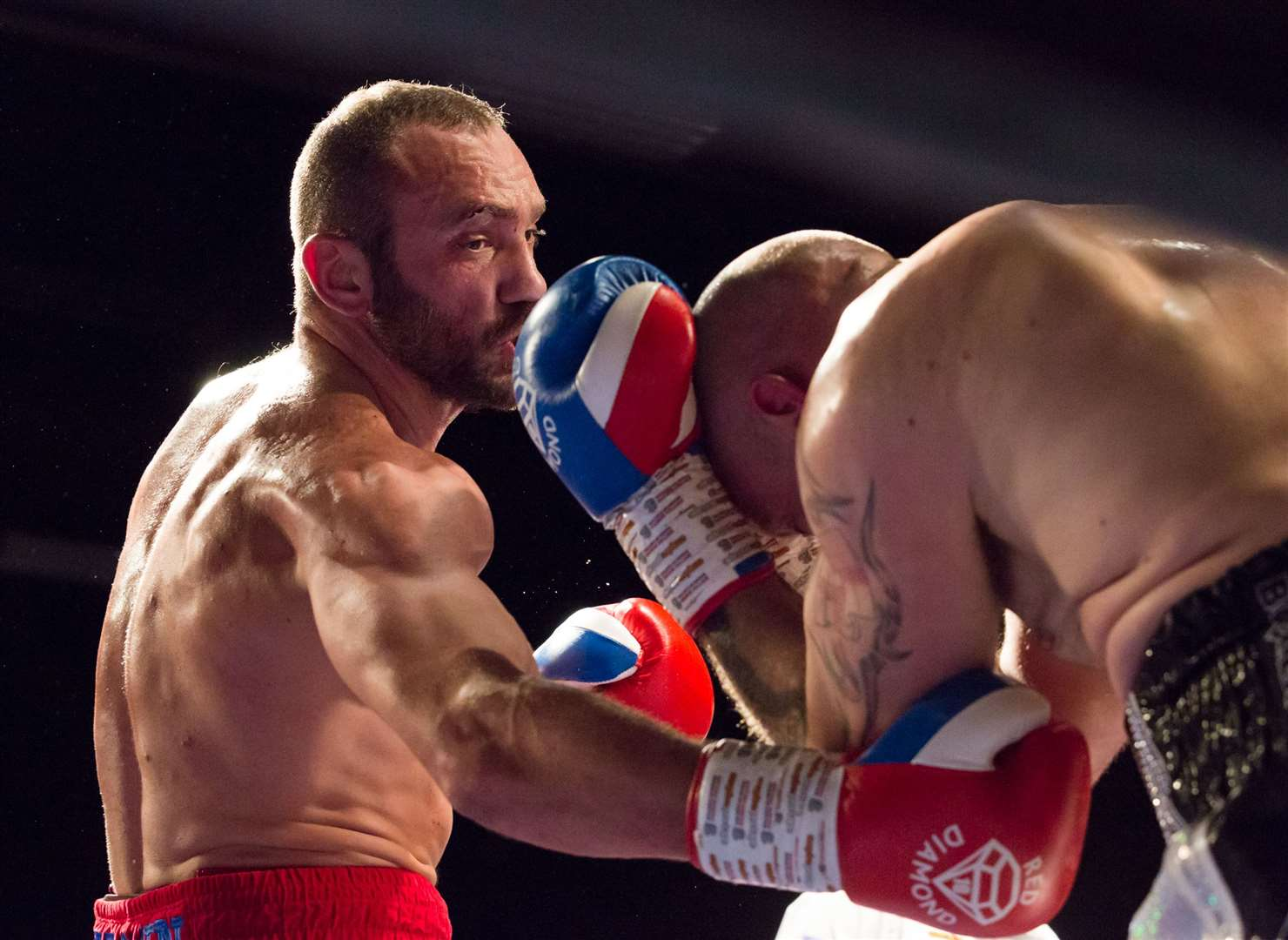 Paul Brown beat Andy Bishop on points in February at Mote Park Leisure Centre, Maidstone Picture: Countrywide Photographic