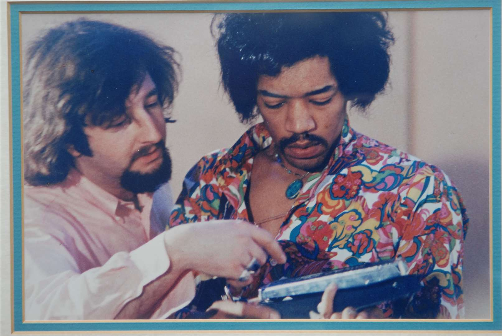 Gerry Stickells from Lydd Lifetime Award for music. with Jimmy Hendrix (GERRY STARTED INTHE BUSINESS AT THE AGE OF 22) picture by Barry Duffield Gerry started in the business at the age of 22 (7747706)