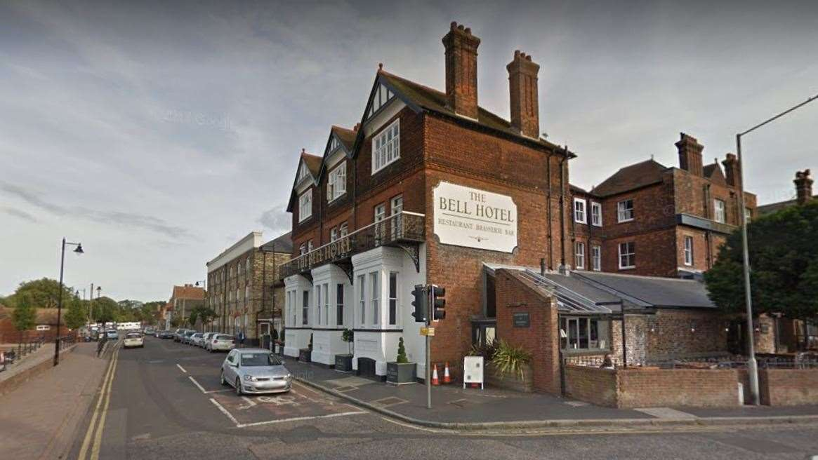 The Bell Hotel in Sandwich. Picture: Google (14699248)