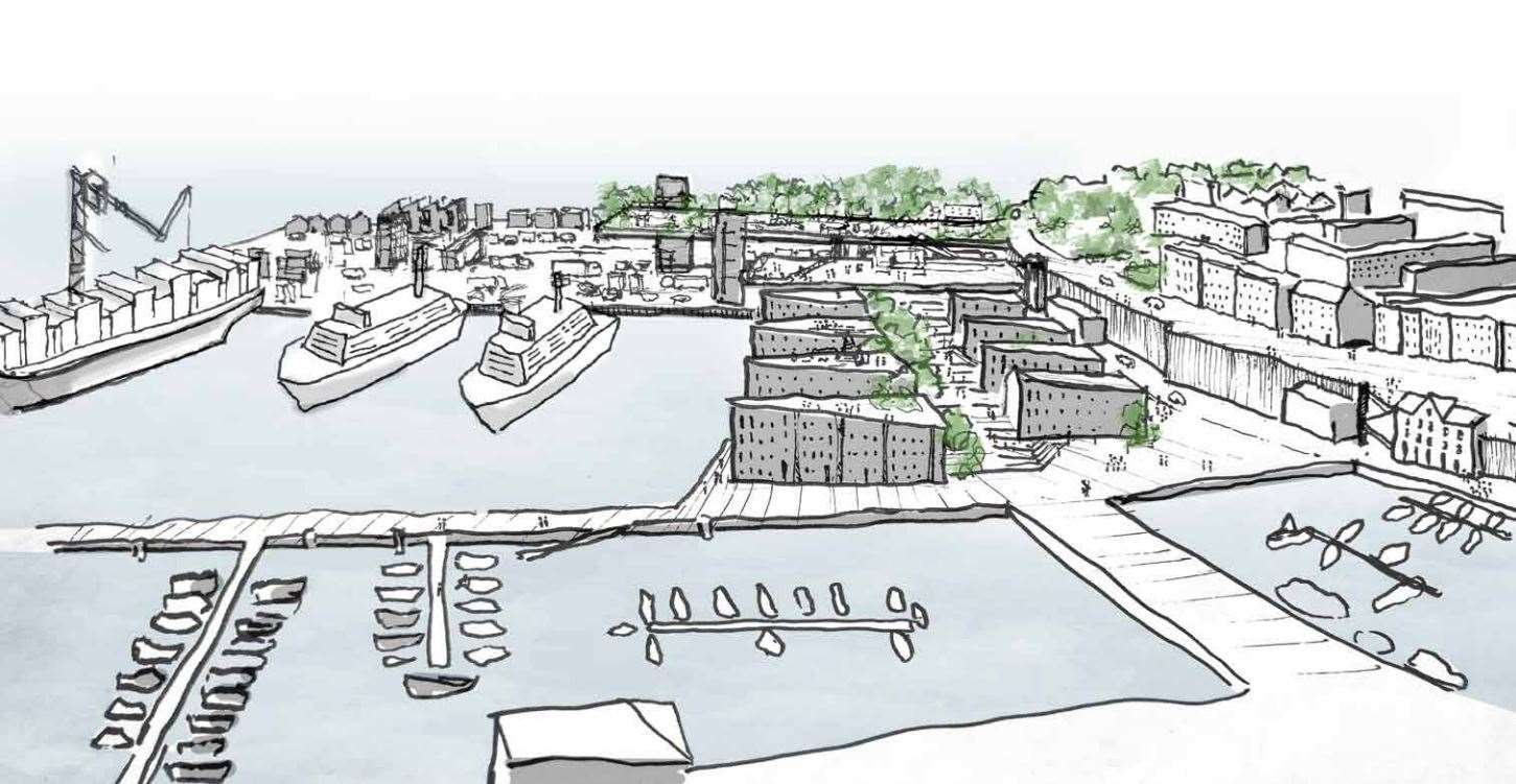 How the Port of Ramsgate could look under the proposals