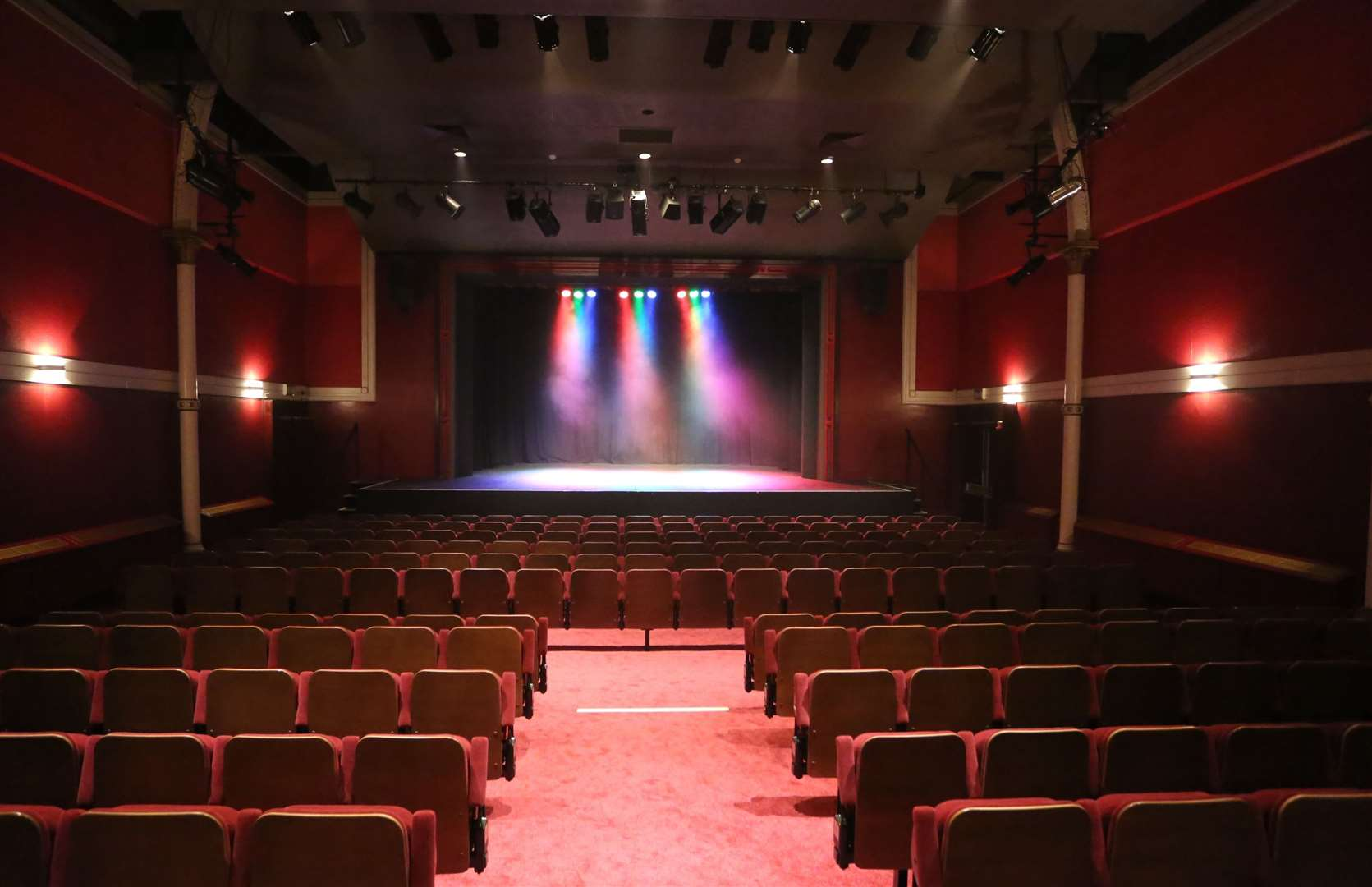 There has been no live theatre at the Hazlitt since March Picture by: Martin Apps