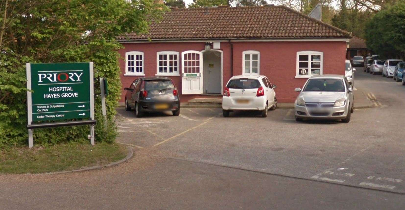 The Priory Hospital Hayes Grove, in Bromley, has been slammed by the CQC for not making improvements to its care for patients with learning difficulties. Picture: Google Street View