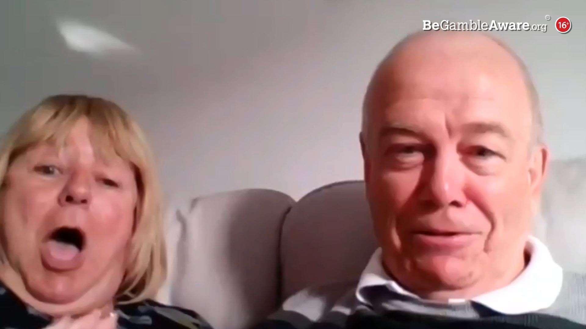 Roy dan Maggie Croucher juga memenangkan £ 30.000