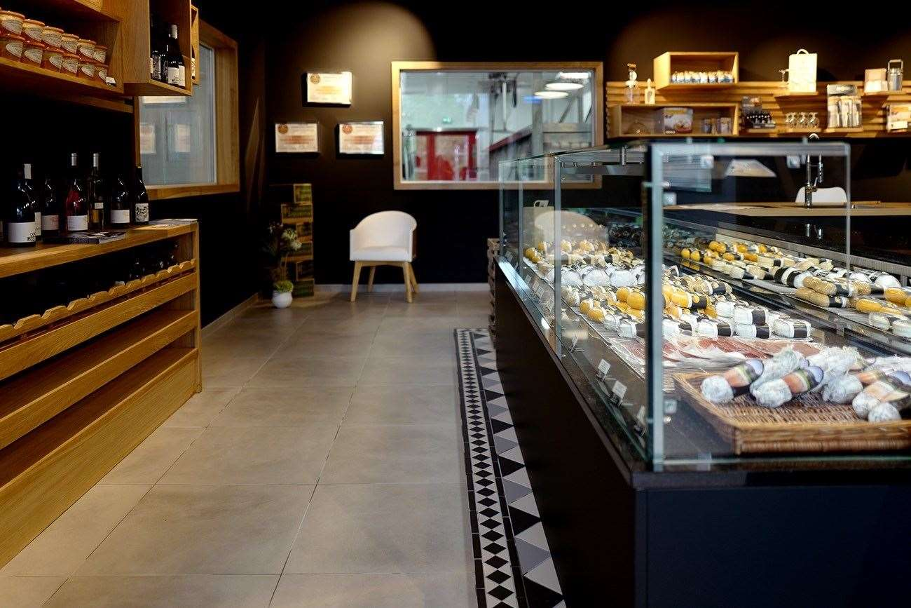 Pop by artisan cheese farm Fromagerie Sainte Godeleine