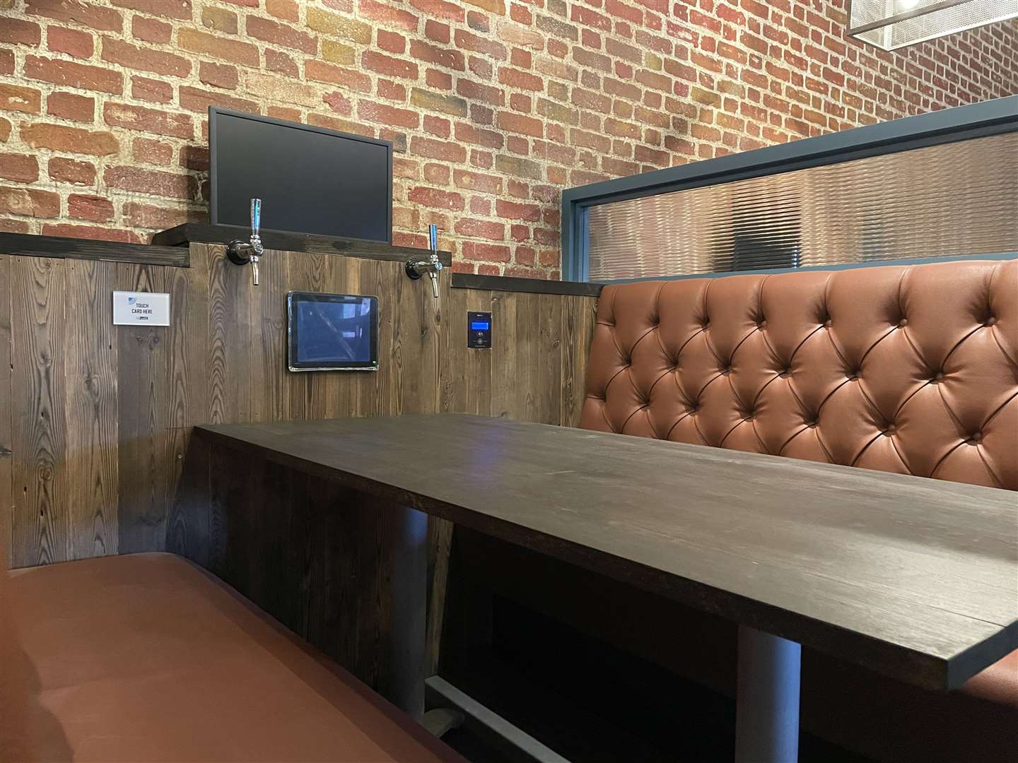 You can book a self-pour booth