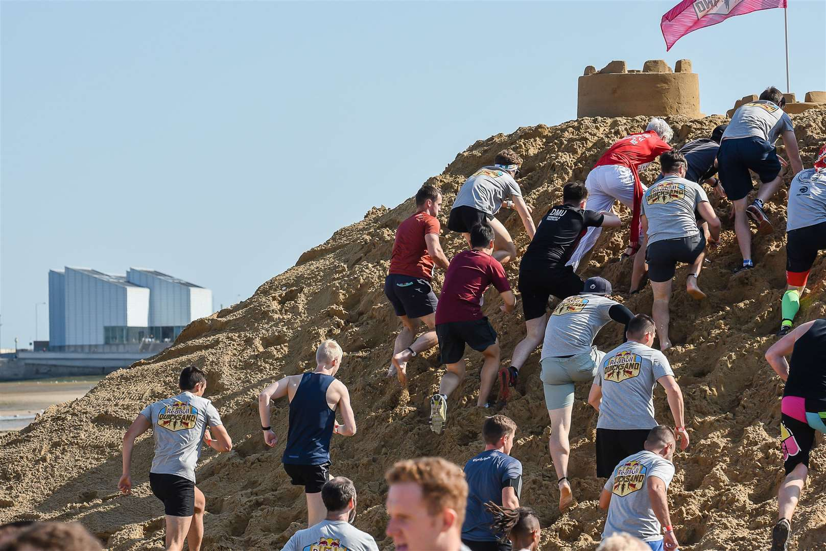 The race is described as the 'world's most gruelling mile race'