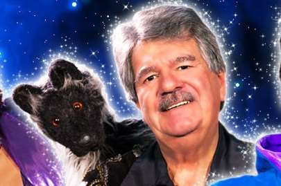Tiswas star Bob Carolgees and Spit the Dog will be in panto this Christmas