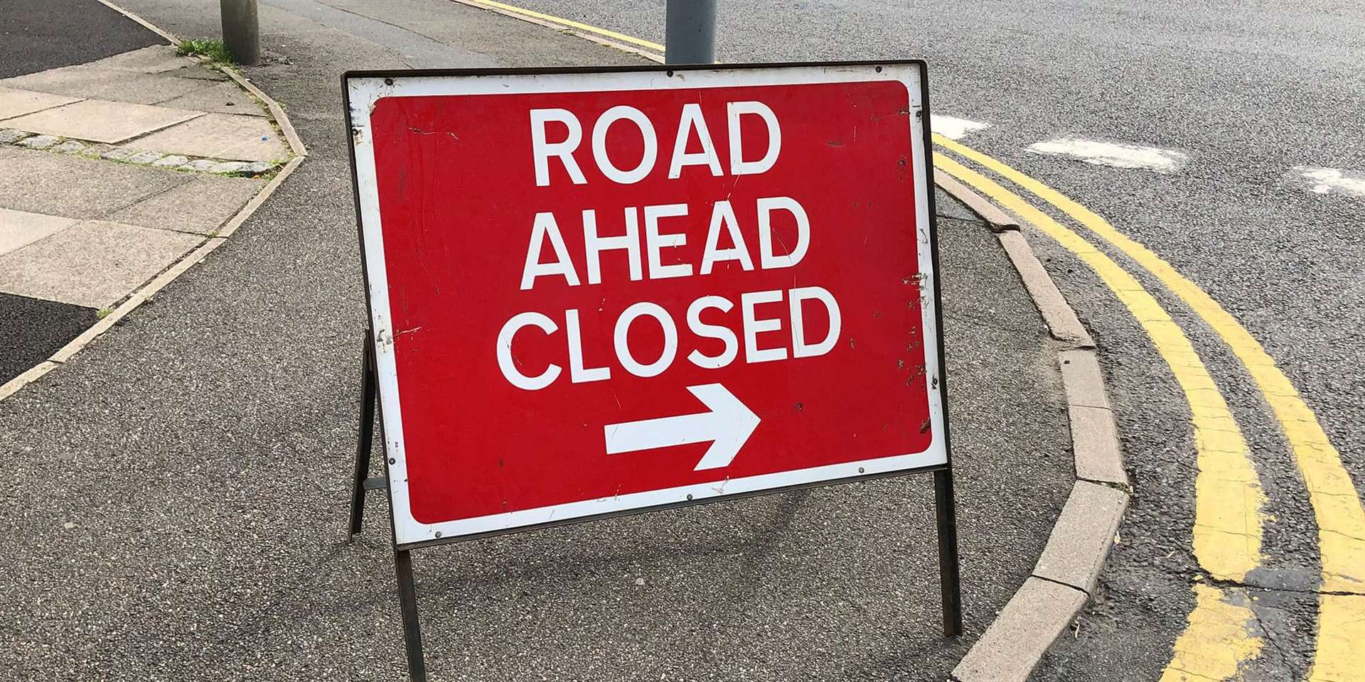 The road works will last for approximately 14 weeks
