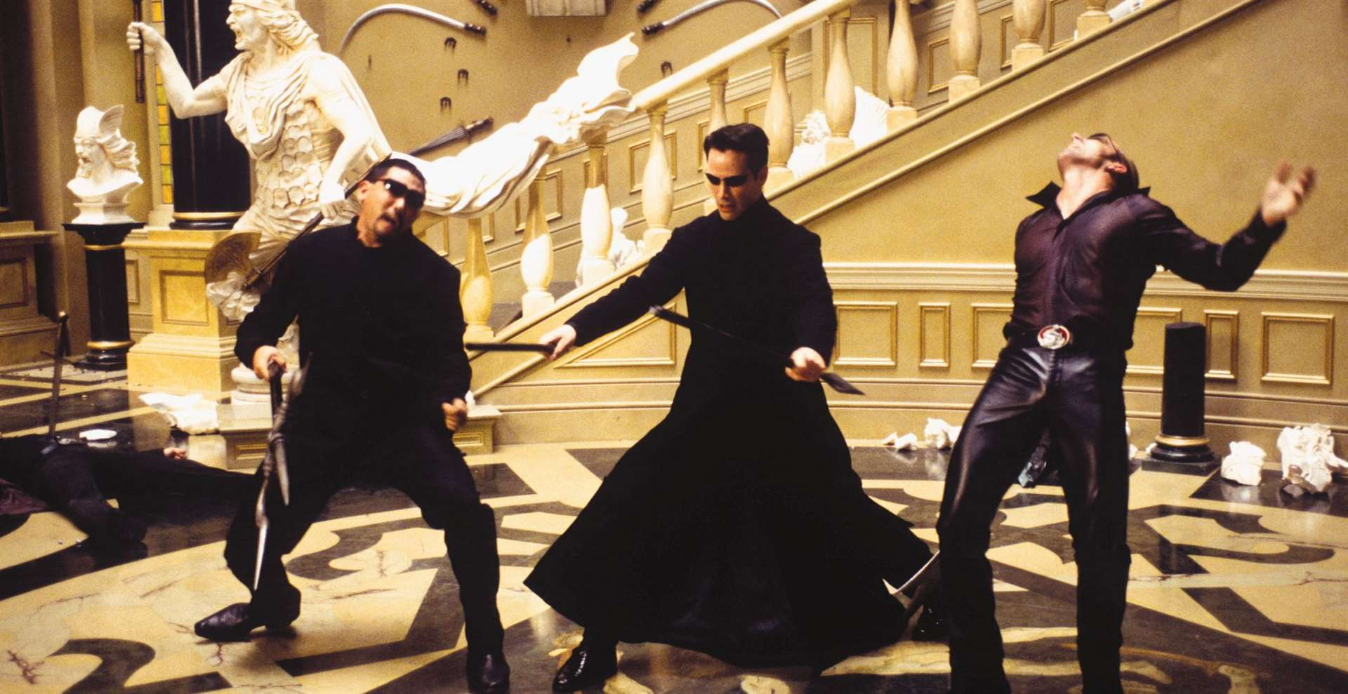 The Matrix Reloaded by Warner Bros. Pictures