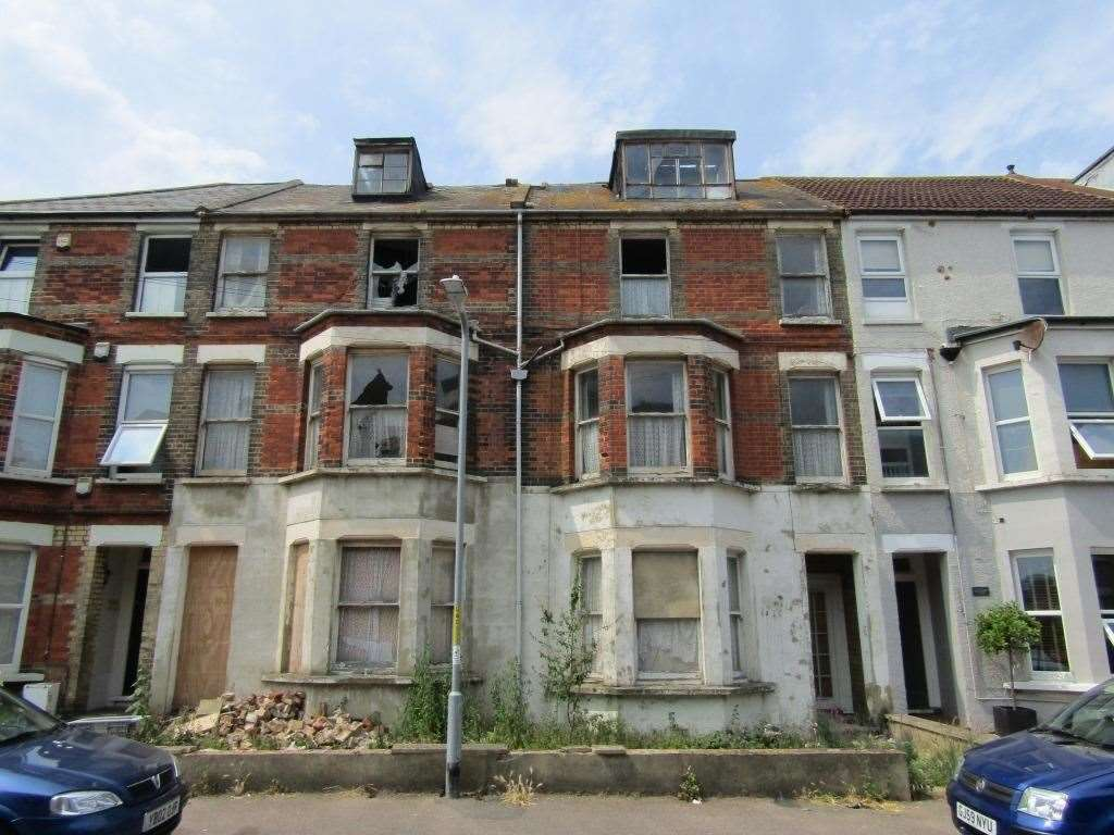 Empty residential properties in Kent have an estimated value of £1.8bn