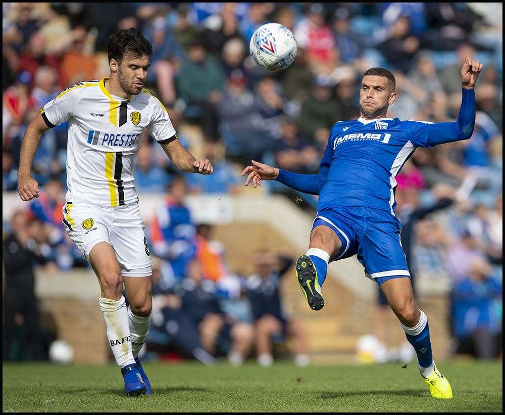 Stuart O'Keefe in action for the Gills Picture: Ady Kerry (15048774)