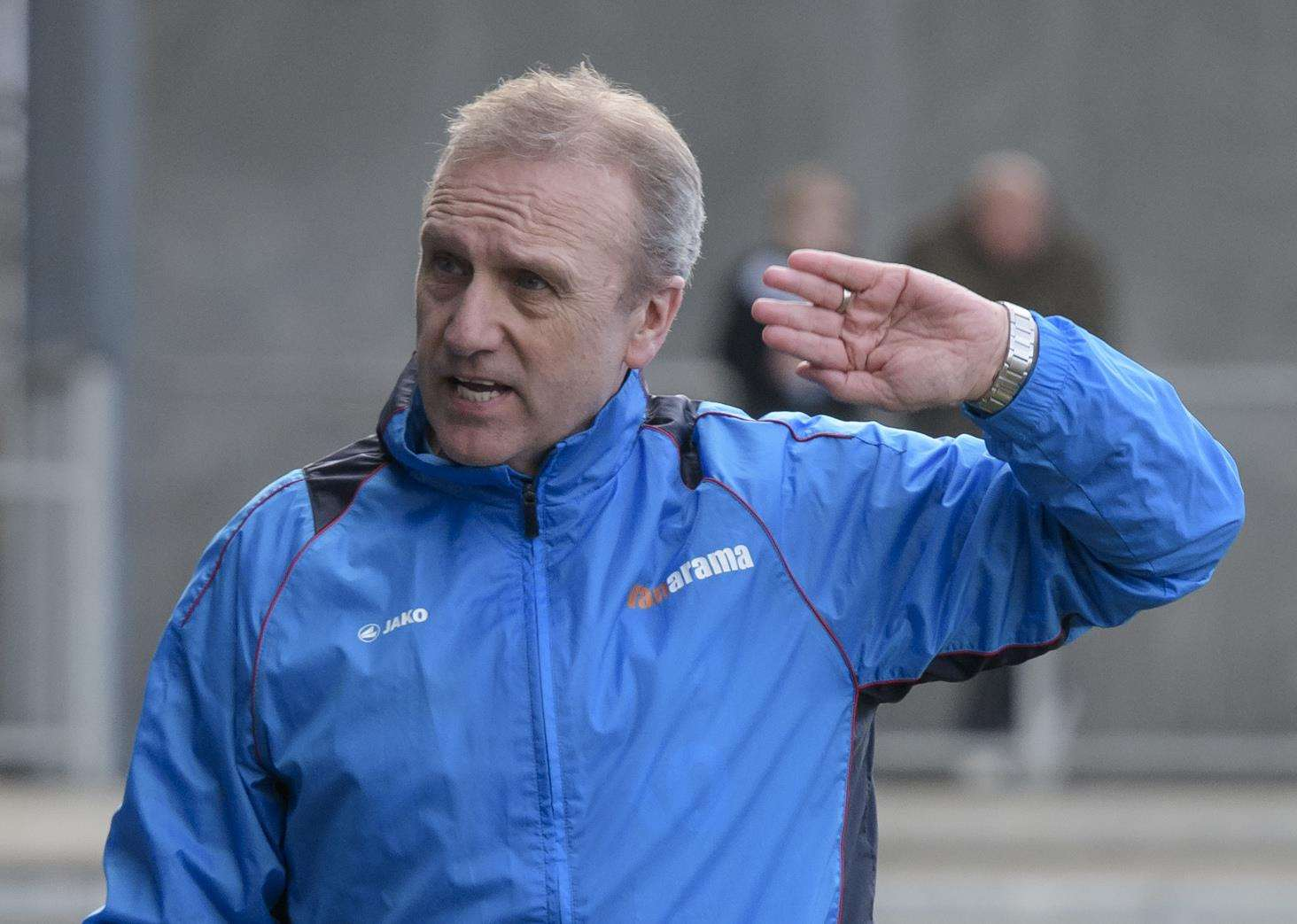 Dartford manager Tony Burman has stepped down. Picture: Andy Payton