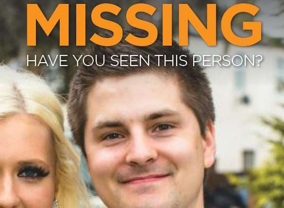 The poster used by searchers looking for Pat Lamb