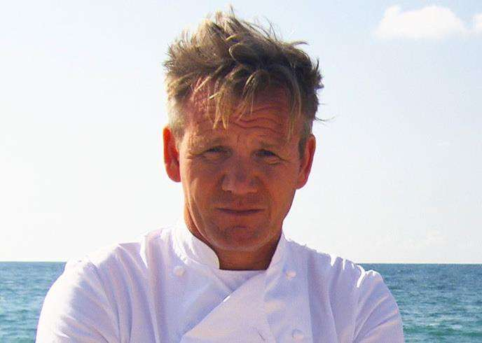 Gordon Ramsay in Ramsay's Costa del Nightmares for Channel 4