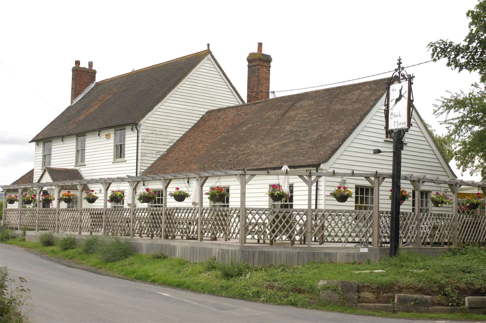 The Black Horse pub, Monks Horton