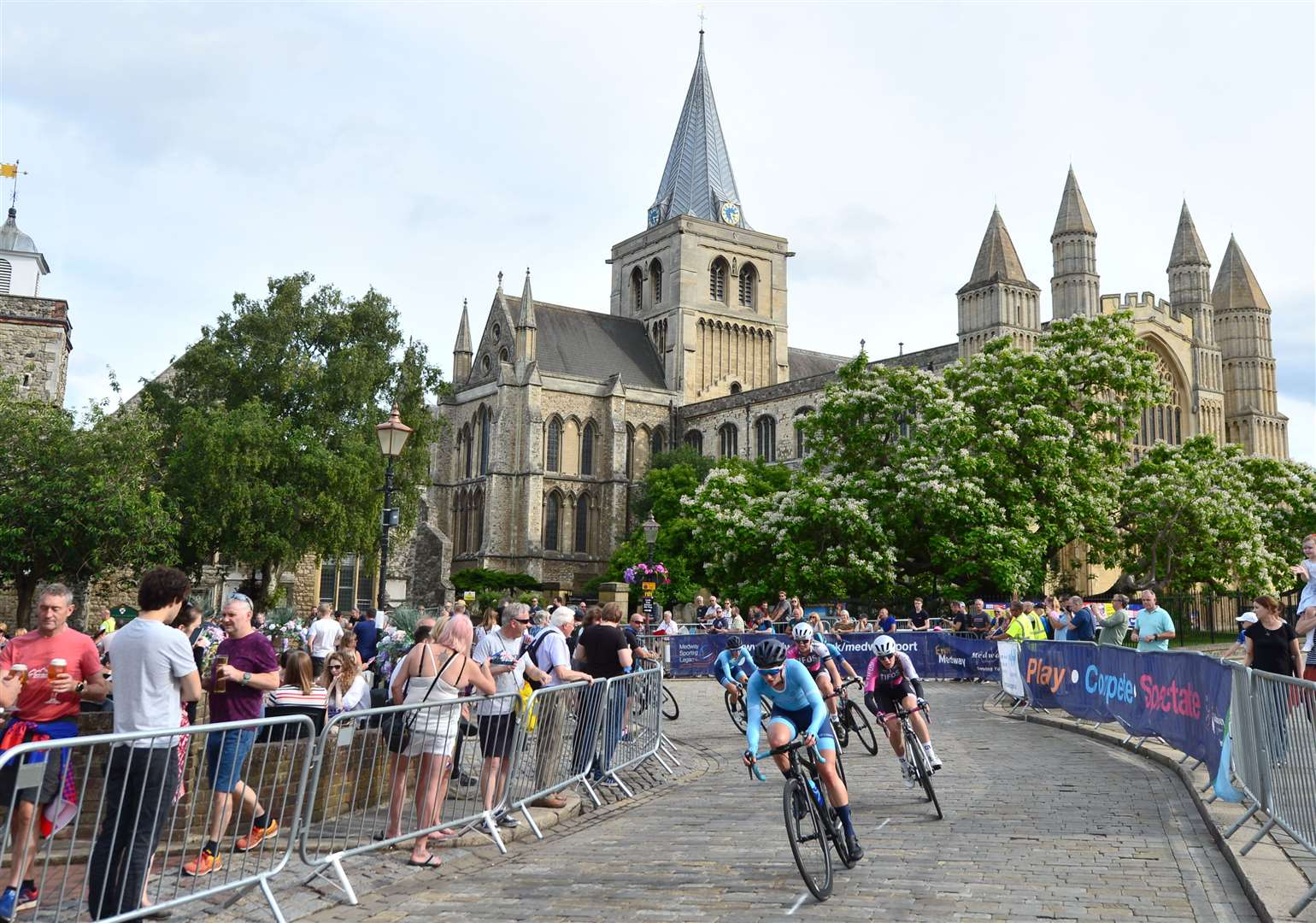 The National Circuit Championships came to the streets of Rochester on Sunday Picture: SWPix