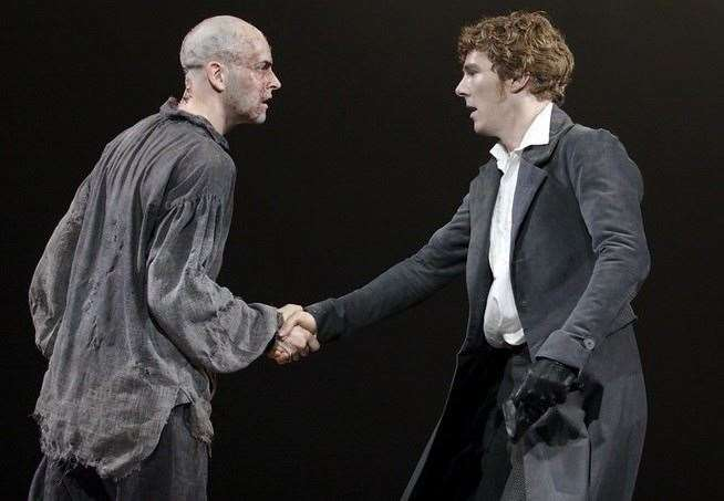 Jonny Lee Miller and Benedict Cumberbacth will star in Frankenstein on National Theatre at Home