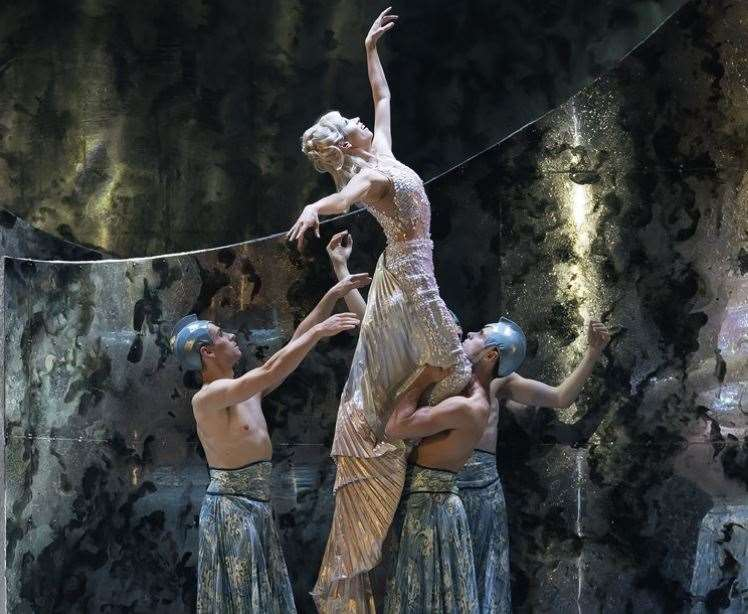 The Northern Ballet's production of The Little Mermaid Picture: Emma Kauldhar