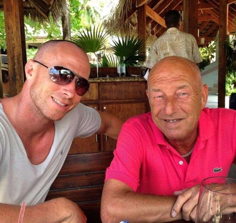 Strictly dancer James Jordan and his dad Allan