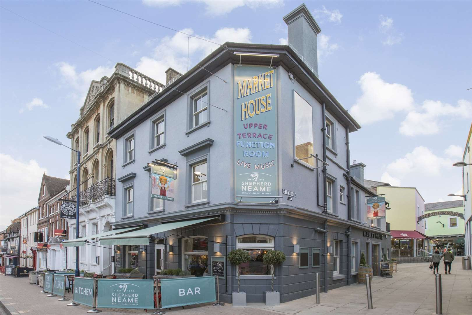 The Market House has won Pub of the Year at the Shepherd Neame Pub Awards (12715700)