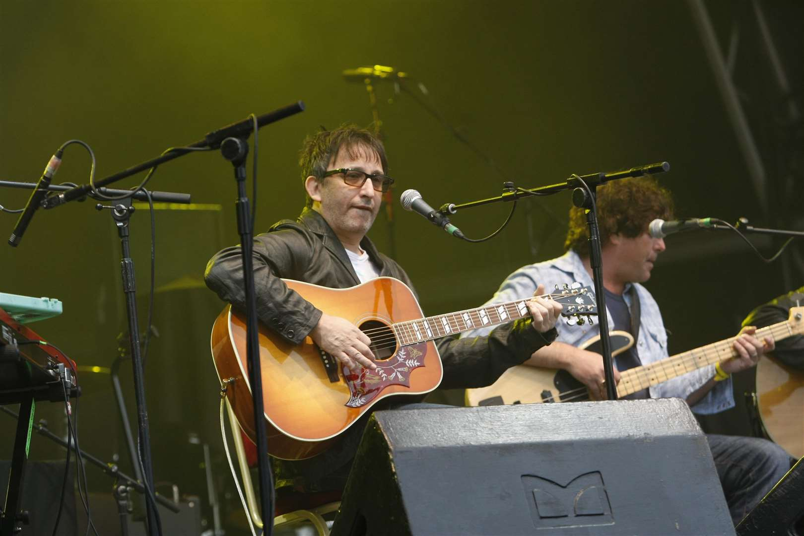 Ian Broudie from the Lightning Seeds at Rochester Castle. Picture: Peter Still (7626275)