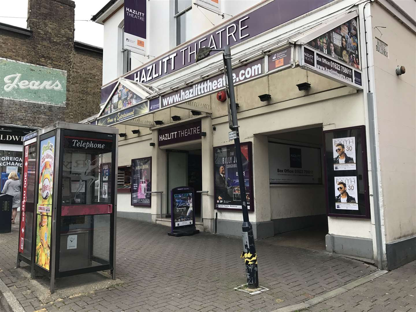 Auditions have previously been held at the Hazlitt Theatre