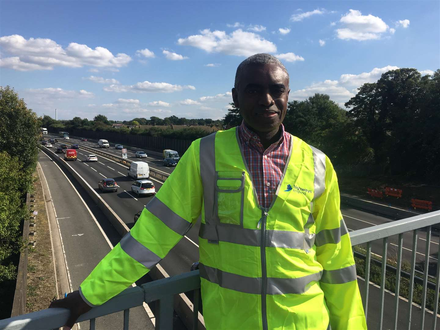 Highways England project manager Kam Kaluba (4166011)