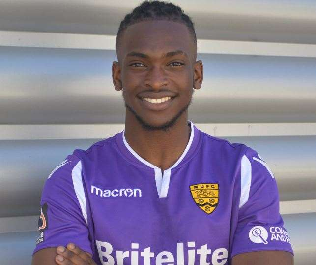 Maidstone have signed promising young lads such as Ibrahim Olutade