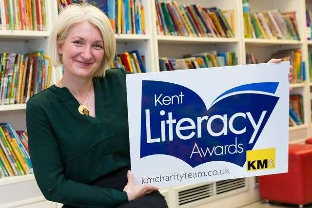 Sarah Leipnik of Golding Homes is supporting the Kent Literacy Awards 2020 which are open to nominations until October 9.