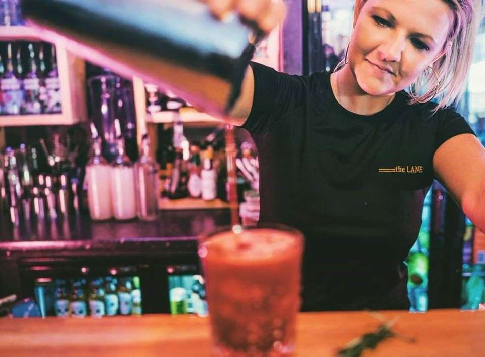 Anna Vidler says closing their cocktail bar in Deal has caused a lot of stress but she is hopeful the government will support them