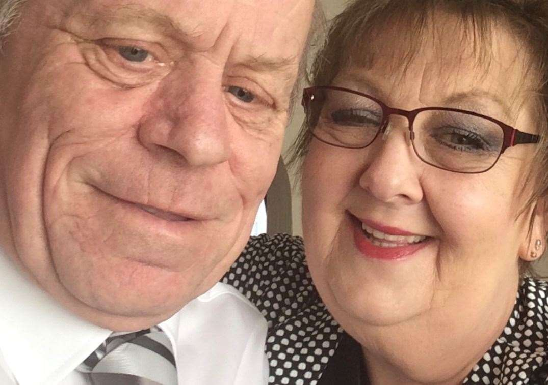 Glyn and Susan Moon have been married 44 years