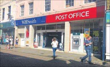The Post Office on Week Street, Maidstone (7406124)